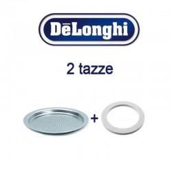 Guarnizione e filtro doccetta 2 tazze alicia De Longhi