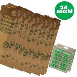 Kit Folletto VK 120/121/122 con 24 sacchetti + 20 profumini