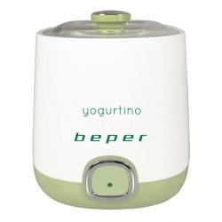 Yogurtiera Beper bianca e verde