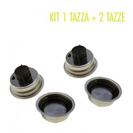 De Longhi filtro crema 1 tazza + 2 tazze